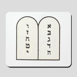 Ten Commandments [Decalogue] Mousepad